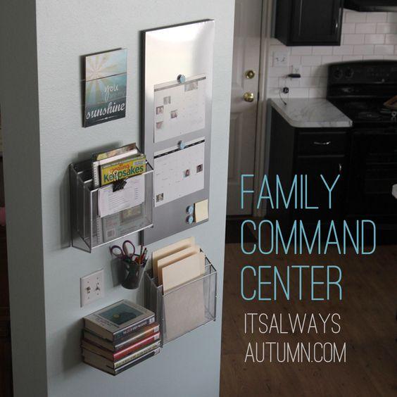 Kitchen Command Center: Homework Center, Homework And Command Centers On Pinterest