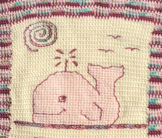 Whale Baby Blanket Crochet Pattern By Lifeinsmallspaces On