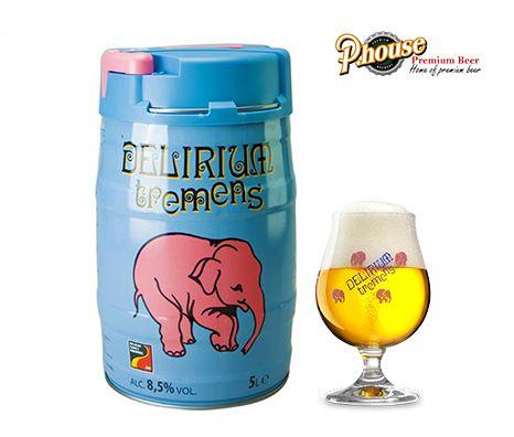 Bia con voi Delirium Tremens 5l