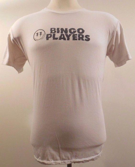 Bingo Players EDM Tee Shirt L Large USA American Apparel Crewneck Logo EDC Mens* #AmericanApparel #GraphicTee
