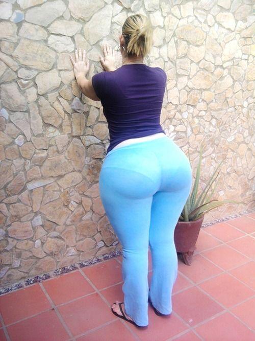 Bbw white phat ass