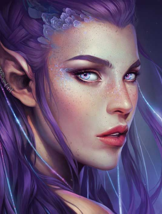 How to paint a female face   Digital art   Creative Bloq  Charlie Bowater shows you how to render a beautiful female face using Photoshop.