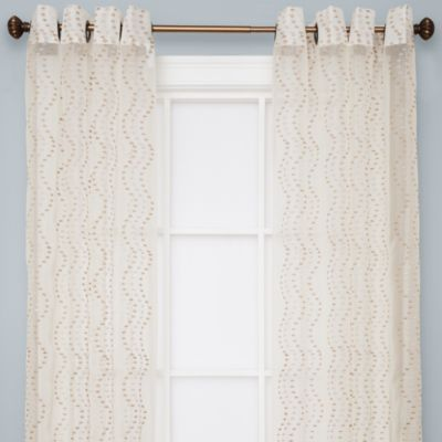 Curtains Ideas bed bath & beyond curtains and drapes : Buy Sloane Sheer Grommet Window Curtain Panels in Ivory from Bed ...