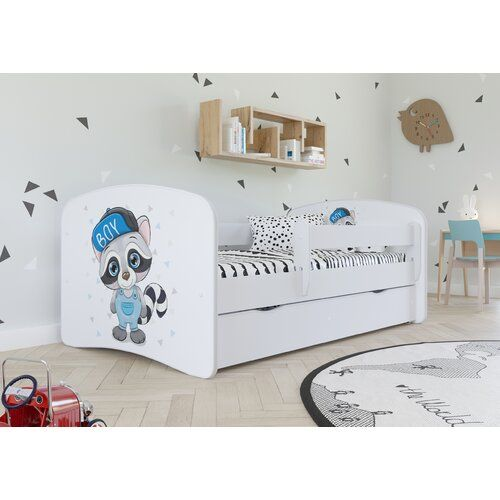 Funktionsbett Caswell Mit Schubladen Roomie Kidz Grosse Kleinkindbett 80 X 180 Cm Farbe Bettgestell Weiss Bed With Drawers Kid Beds Bed