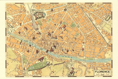 Playroom: hang our maps of Florence and Monrovia with maps of other favorite vacation spots