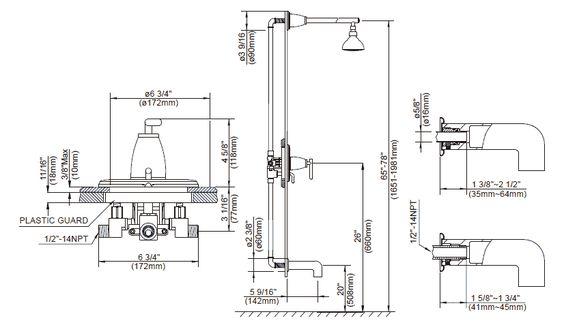plumbing layout  diagram