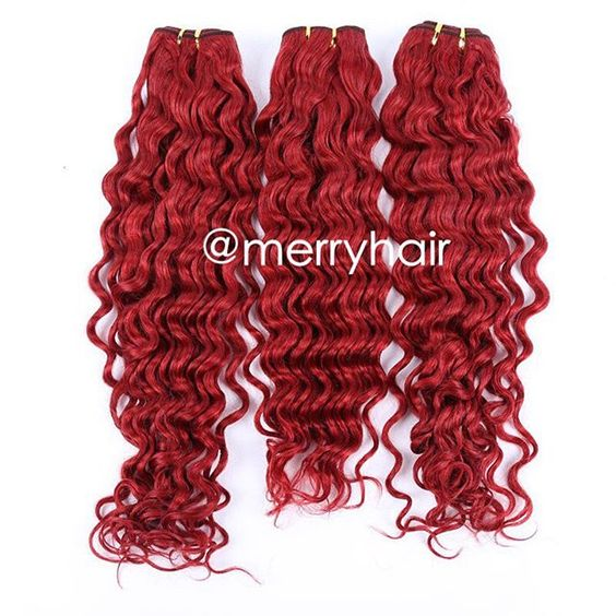 Red hair deep wave Email:merryhairicy@hotmail.com  Whatsapp:8613560256445.  #fastshipping2or3businessdayshipping#customorders2to3weeks #paypalinvoice#calltoorder #7Avriginhair#laceclosure#silkclosure#frontals #middleclosures #deepwave#bodywave #straight #loosewave#curlywave#naturalwave