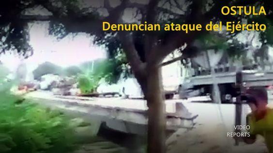Video capta el ataque de militares a pobladores de Ostula