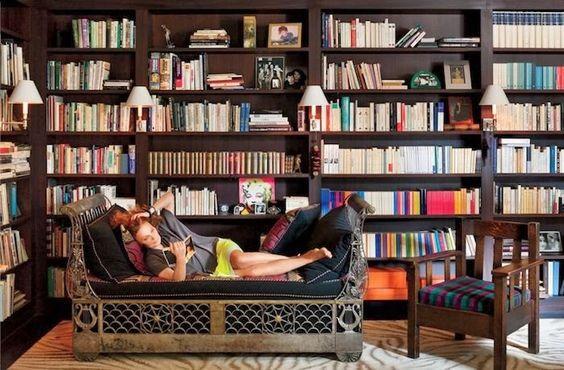 Diane Von Furstenberg's apartment in Paris