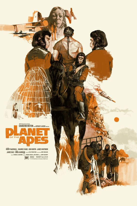 Cool Art: Planet of the Apes by Marc Aspinall | Live for Films