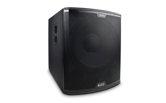 Alto Professional Black 18S Powered Subwoofer