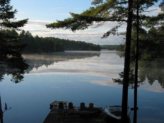 Go Home Lake Muskoka Lakes Ontario Canada Cool Places To