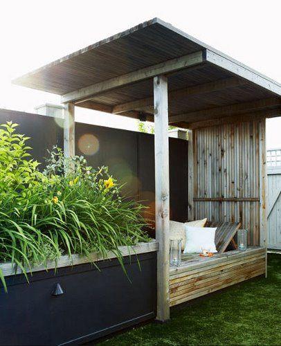 Simple. Urban. Cool. #terrace #patio #garden