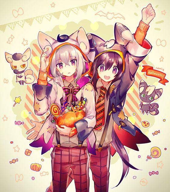 namie kun touken ranbu pokmon tepig honebami toushirou namazuo toushirou anime cross over pinterest anime pokmon and manga - I Luv Halloween Manga