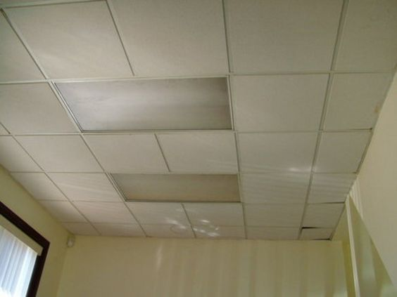 Hey everyone. Here I'd like to show you how did we covered old ugly drop tiles my friend had in his office with a new ugly ones (at least the new ones weren't stained :)This is how this office's ceiling looked like before we started....about half an hour later.We just attached PVC glue on ceiling tiles to the old drop tiles one by one (used them as a support)For that purpose we used PL construction adhesive Hour and a half later. A-ha, here we realised that it could be very good idea to…
