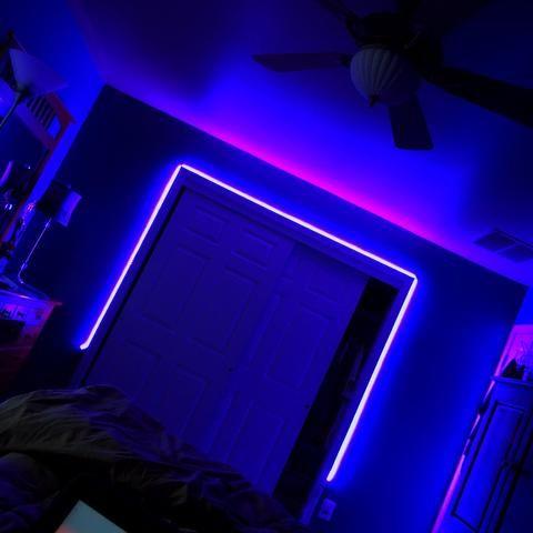 1 Pack Wireless Wifi Led Strip Light Kit Led Lighting Bedroom Led Strip Lighting Strip Lighting