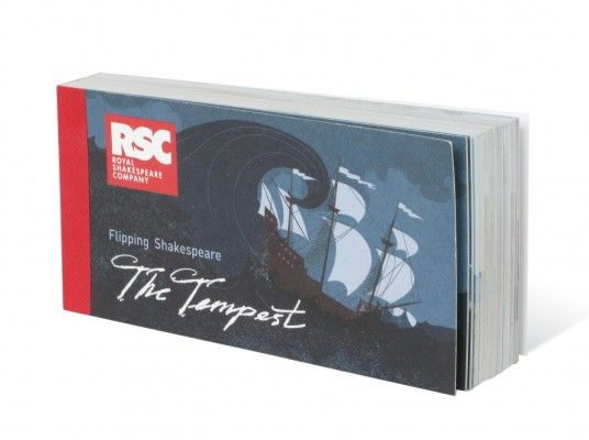 Royal Shakespeare Company: The Tempest flip book