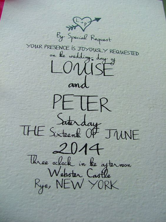 Little heart Wedding Invitations Adorable by sweetinvitationco, $95.00