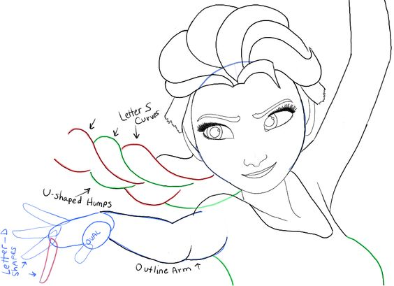 how to draw elsa easy step 8 doodles drawings pinterest elsa easy and drawings
