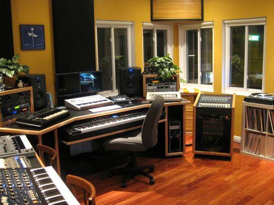 Audio Desks And Everything On Pinterest