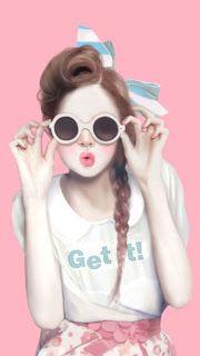 خلفيات موبايل بنات كيوت خلفيات جميلة للبنات خلفيات بنات اطفال كيوت Cute Girl Drawing Girly M Vintage Girls