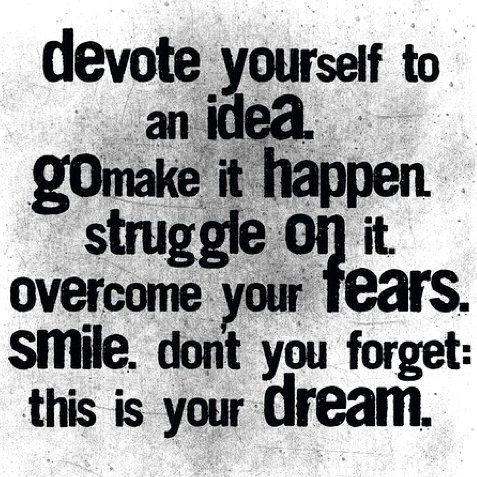 making things happen.