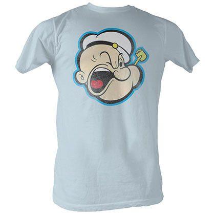 Popeye Head Color T-Shirt