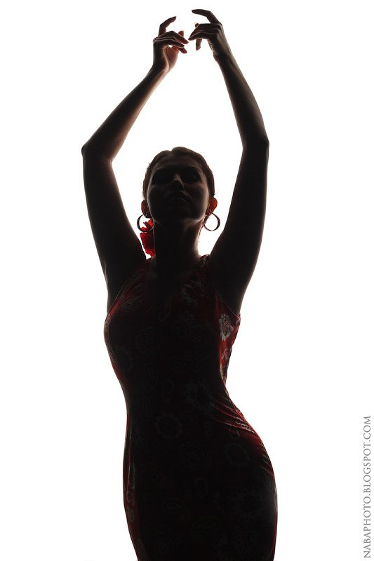 NaBa Photography: Valeria - Flamenco Dancer, Red Dress