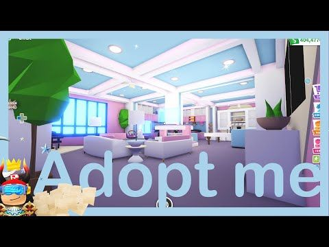Futuristic Home 2 House Design Build Tour With Madammadhouse Adopt Me Roblox Youtube Futuristic Home Adoption Rainbow House