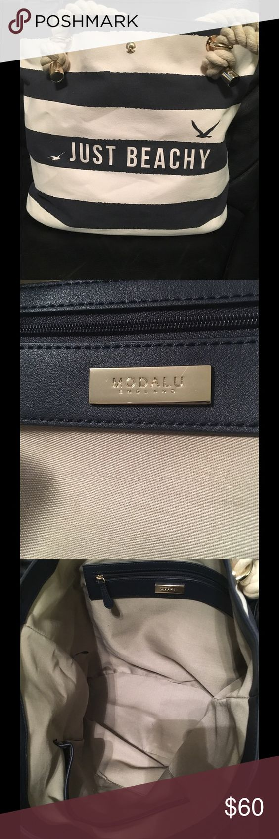 Selling this Modalu Just Beachy Bag on Poshmark! My username is: lsamuels13. #shopmycloset #poshmark #fashion #shopping #style #forsale #Modalu #Handbags
