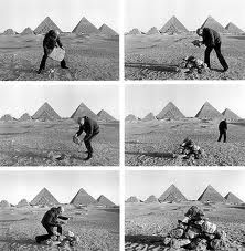 Duane Michals photo sequence to tell a story.