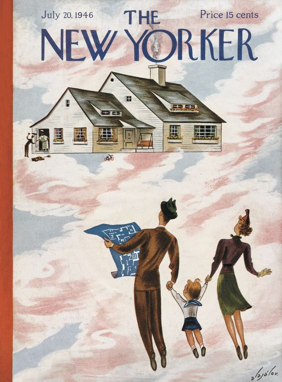 The New Yorker - Saturday, July 20, 1946 - Issue # 1118 - Vol. 22 - N° 23 - Cover by : Constantin Alajalov