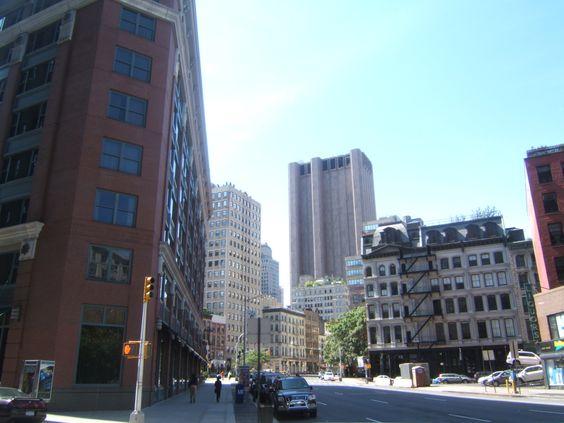 New York, un mix di diverse architetture