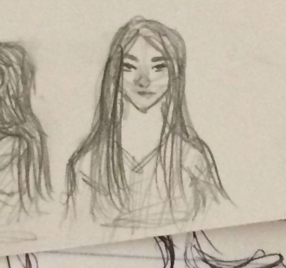 I think I accidentally drew Kristen Stewert.......