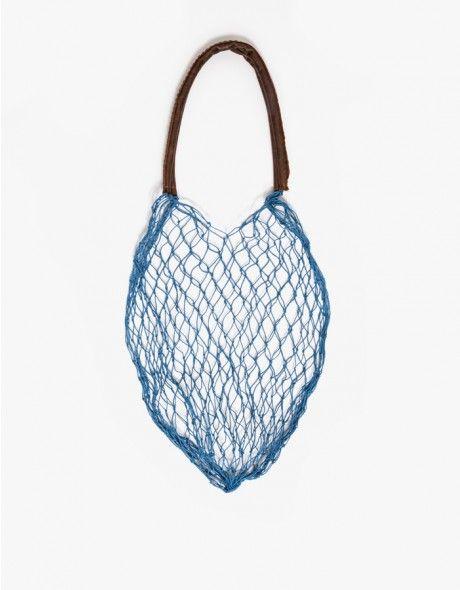 The Net Bag in Blue
