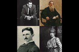 People who knew and studied under Swami Vivekananda, Salinger, Leo Tolstoy, Sarah Bernhardt, Tesla