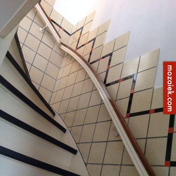 Utrecht dubbelhardgebakken vloer ontwerpen for Buitenste trap ontwerp