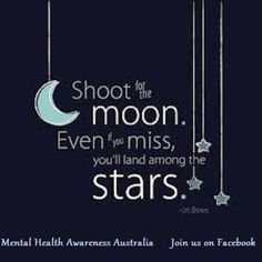shoot for the moon canvas with lights - Google Search