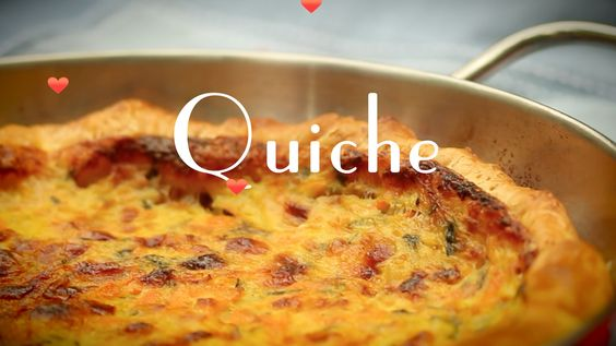 Para qualquer hora do dia: Aprenda a fazer um delicioso Quiche Veja como fazer um delicioso quiche com recheio cremoso de queijo, creme de leite e Verdure Stufate. Clique!! bit.ly/Inscreva-Aqui  #quiche #sambacooking