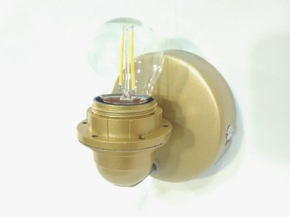 Is very pretty to be used just as you see, built entirely by me, is available in different colors: white, gold, copper, bronze. Is minimalist style and its compactness makes it ideal for all types of my wall lampshades production. Ideal for decorating homes and contemporary or rustic rooms. 25,00 €