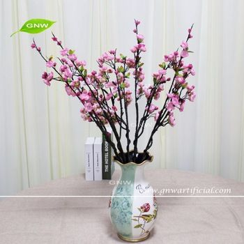 GNW BLB-CH1605020 Wholesale High similation pink plum silk flower for all festival decor
