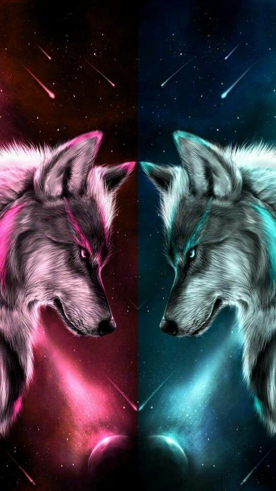 Imagenes Fantasias Bluewallpaper Bluewallpaperiphone Bluewallpaperaesthetic Anime Wolf Papel De Parede De Lobo Wolf Love
