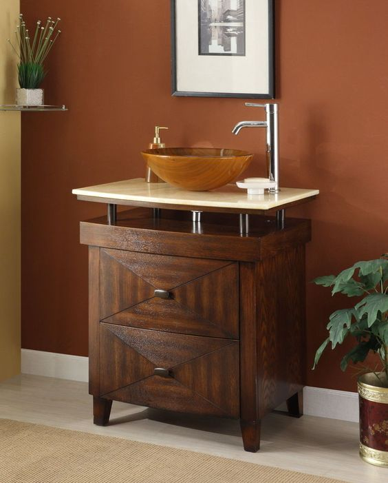 "Details about 28"" Verdana Onyx Counter Top Vessel Sink Bathroom ..."