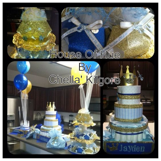 """We Heart Parties: Party Information - """"Royal Little Prince"""" Baby Shower Welcoming Baby JAYDEN"""