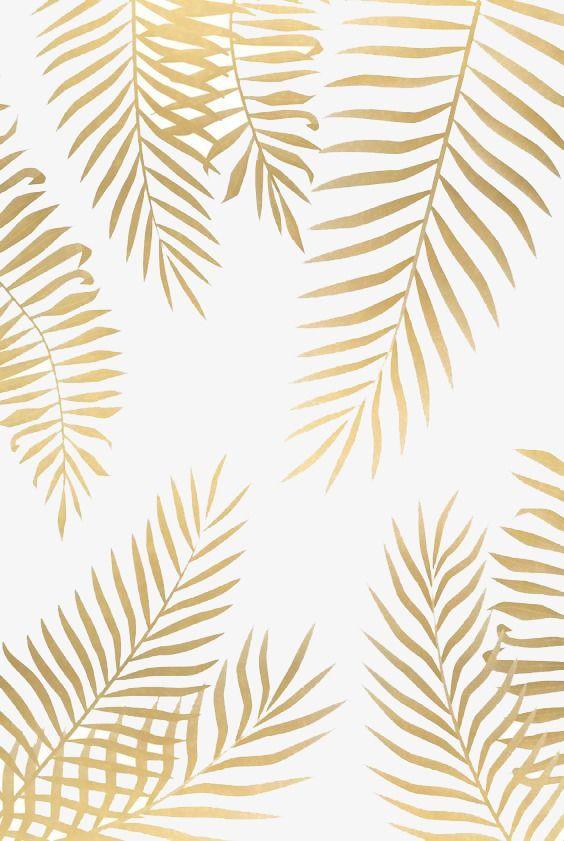 Gold Leaf Png And Clipart Palm Leaf Art Leaf Art Iphone Wallpaper