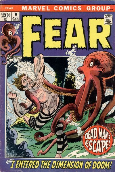 Fear # 9 by Gil Kane & Frank Giacoia