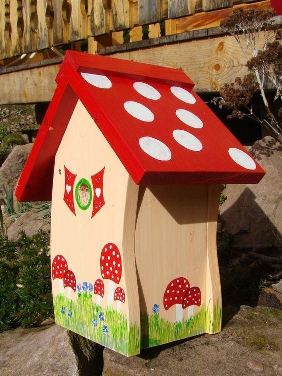 Die 19 Besten Ideen Zu Vogelhaus Bemalen