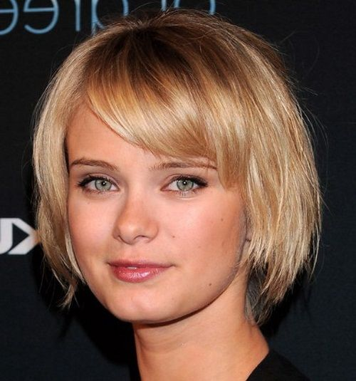 Best Bangs For Square Faces: Square Faces, Short Haircuts And Square Face Shapes On