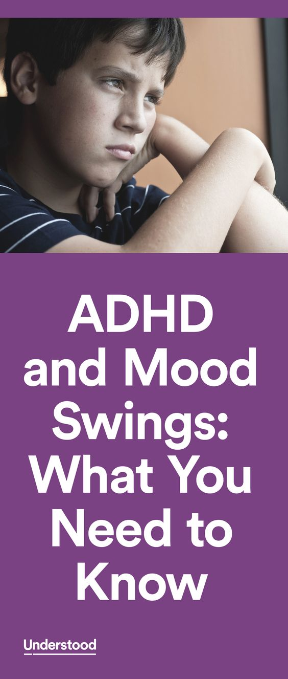 Kids withADHD often struggle withmanaging their emotions. For some, that can mean mood swings that leave their parents, teachers and friends wondering what caused such a swift change in attitude and behavior.
