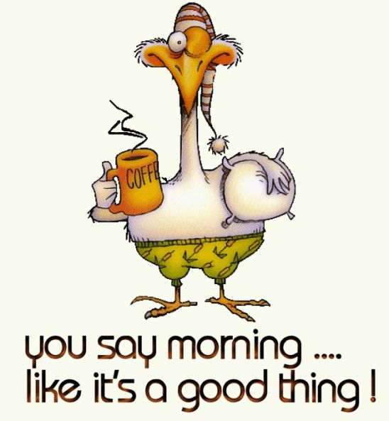 Funny Morning Greetings | Good Morning Funny Cartoon Animated ...